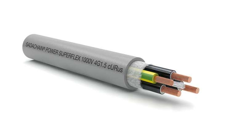 SADACHAIN POWER Superflex UR/CSA Multi Cores